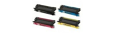 4Black&color ink toner for Brother MFC9840CDW All-in-one AIO laser Printer TN115