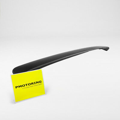 2009 to 2012 Audi A4 Sedan ROOF Rear Lip Spoiler with Black Primer Finish