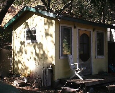 120' insulated home office shed