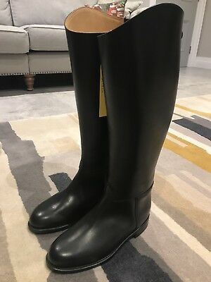 Regent English Leather Riding Boots Size 6