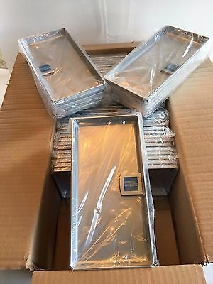 25 AMEX Tip Trays/Check Presenter Receipt Holder Silver FREE FAST SHIPPING!1