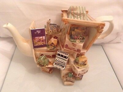 Cardew Collectable Novelty Large Lilliput Lane Market Stall Perfect Condition