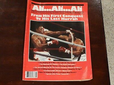 Ali..Ali..Ali. A Special Publication. From His First Conquest To His Last Hurrah