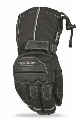 FLY RACING Snow Snowmobile Aurora II Gloves (Black) L (Large)