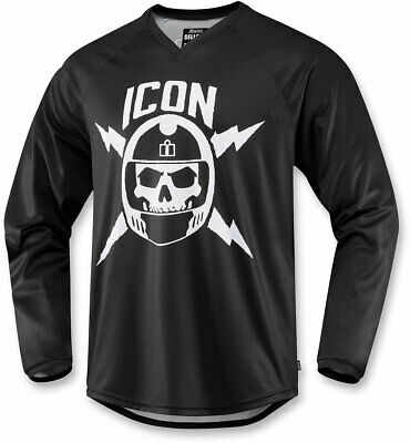 Icon Motosports SELLOUT Jersey/Shirt (Black) 3XL (3X-Large)
