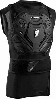 THOR MX Motocross SENTRY Vest Chest/Back Guard LG-XL (riders 160-180 lbs)