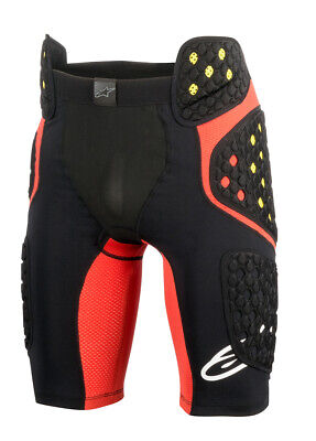 Alpinestars MX/Motocross SEQUENCE PRO MX Shorts (Black/Red) M (Medium)