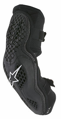 Alpinestars MX/Motocross SEQUENCE Elbow Protector (Black/Red) SM-MD