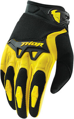 THOR MX Motocross 2015 SPECTRUM Gloves (Yellow) M (Medium)