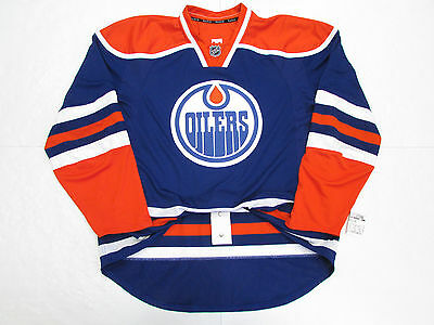 8ced346e4c4 ... sale edmonton oilers authentic home team issued reebok edge 1.0 7187  jersey size 56 7e89f d3ec1