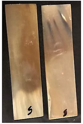 Real Ox Horn Knife Scales Knife Making Supply For Knife Handles Ox Horn Material