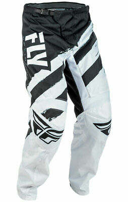 Fly Racing MX Motocross MTB BMX 2018 Kids F-16 Pants (Black/White) US 22 Youth