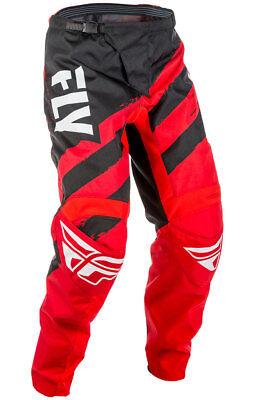 Fly Racing MX Motocross MTB BMX 2018 Kids F-16 Pants (Red/Black) US 22 Youth