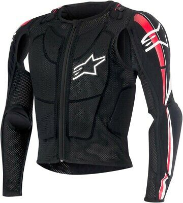 ALPINESTARS 2016 BIONIC PLUS Protection Jacket (Black/Red) S (Small)