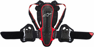 Alpinestars Nucleon KR-3 Back/Rib Protector CE Level 2 (Black/Red) XS (X-Small)