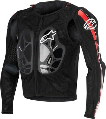 ALPINESTARS 2016 BIONIC PRO Protection Jacket (Black/Red) S (Small)