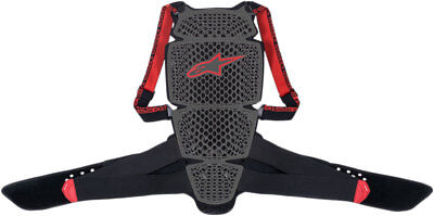 Alpinestars Nucleon KR-Cell Back Protector CE Level 1 (Black/Red) XS (X-Small)