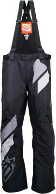 ARCTIVA Snow Snowmobile Men's 2017 COMP Insulated Bibs/Pants (Black) L (Large)