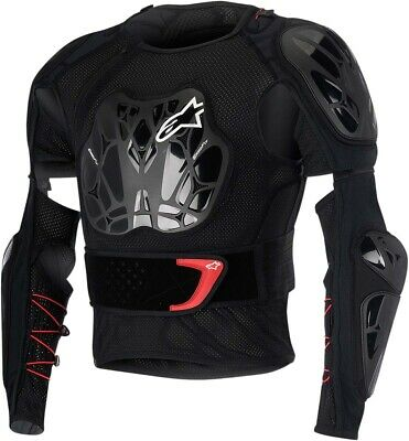 ALPINESTARS 2016 BIONIC TECH Protection Jacket (Black/Red) L (Large)