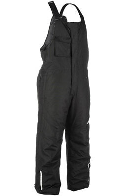Fly Racing Snow Snowmobile Men's AURORA Bibs/Pants (Black) S (Small)