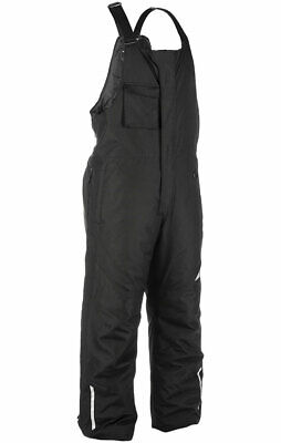 Fly Racing Snow Snowmobile Men's AURORA Bibs/Pants (Black) L (Large)