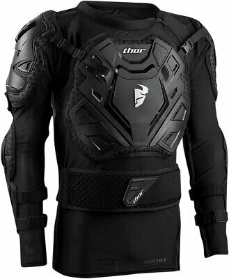 THOR MX Motocross SENTRY XP Roost Guard Jacket LG-XL (riders 160-180 lbs)
