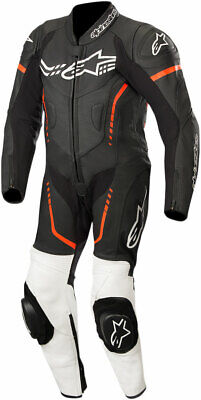 Alpinestars Youth GP PLUS CUP Leather Suit (Black/White/Fluo Red) EU 140 Youth