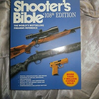Shooters Bible Book 108th Edition Firearms Guns Price Guide