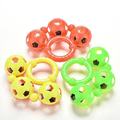 Wonderful Plastic Baby Toys Hand Shake Bell Ring Rattles Aa