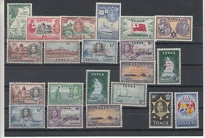 Tonga:Small collection of early Tonga.Mint/hinged.Going Cheap.Very Good picking