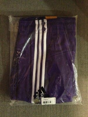 0a09cb81e Big and Tall Adidas L.A. Lakers NBA Authentic Tearaway Warm Up Pants Mens  Purple