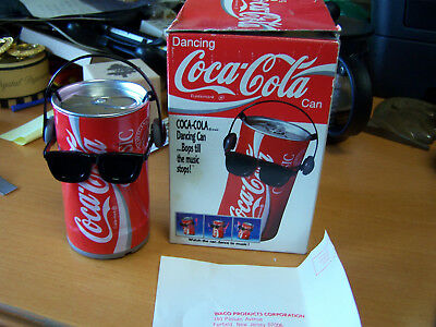 Dancing Coca-cola Can box and good Condition