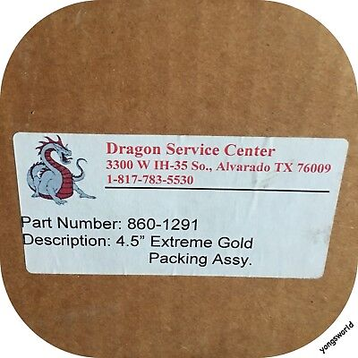 """Dragon 860-1291 4.5"""" Extreme Gold Packing Assembly Set Lot"""