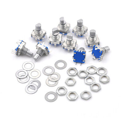 10pieces 12 mm EC11 Key Switch Rotary Encoder Switches Hot GH