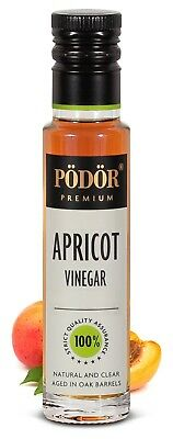 Podor Premium Apricot Vinegar 250 ml Nature and Clear