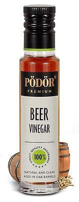 Podor Premium Beer Vinegar  Nature and Clear 250 ml