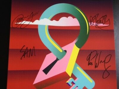 Temples Volcano LP with signed print  - VERY LIMITED!!