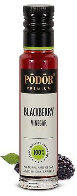 Podor Premium Blackberry Vinegar Nature and Clear 250 ml