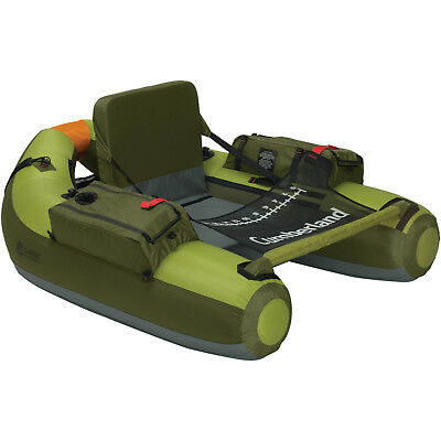 Inflatable Float Tube Fishing Outdoor Water Sports Lake Boating Green Boat New