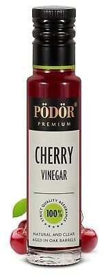 Podor Premium Cherry Vinegar Nature and Clear 100ml