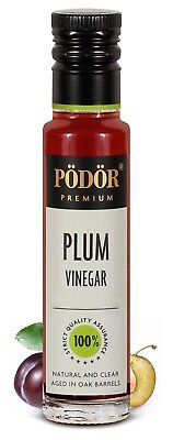 Podor Premium Plum Vinegar 250ml Nature and Clear