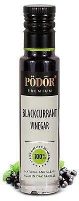Podor Premium Blackcurrant Vinegar Nature and Clear 250 ml