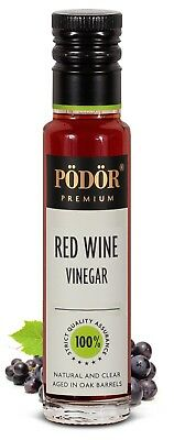 Podor Premium Red wine  Vinegar 100ml Nature and Clear