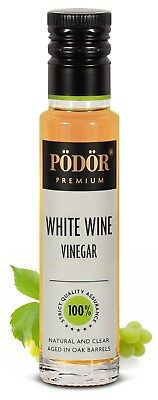 Podor Premium White wine  Vinegar 100ml Nature and Clear
