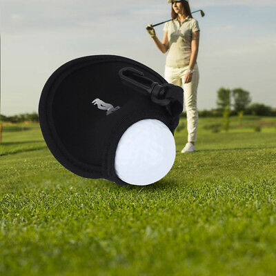 Mini Neoprene Golf Ball Bag Holder Golf Accessory Pouch Small Waist Pack New AF