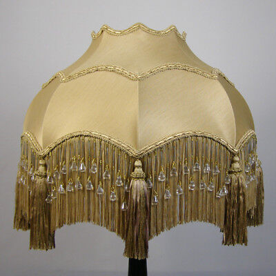 Victorian Vintage Antique Beaded Lampshade *REDUCED FROM £221.00 TO £199.00*