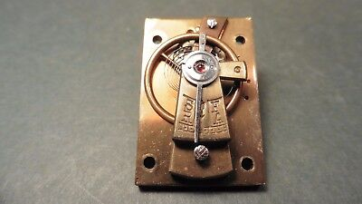 Platform escapement Carriage  Clock parts