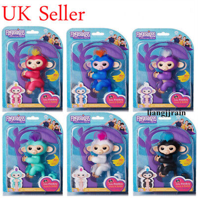 WowWee Finger Baby Monkey lings Kids Xmas Gift Creative Toy Electronic Pet