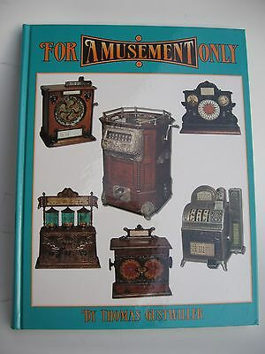 For Amusement Only Antique Slot Machine Trade Stimulators Hardcover New Book