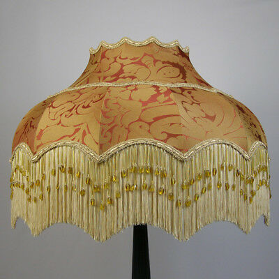 Victorian Vintage Standard Beaded Lampshade *REDUCED FROM £271.00 TO £244.00*